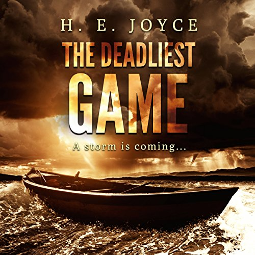 The Deadliest Game audiobook cover art