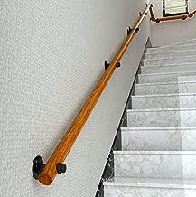 SO-TOOLS/® Lot de 3 supports de main courants en acier inoxydable AISI304 pour v/élo de 42,4 mm pour main courante en bois