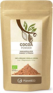 Planet Bio Cacao Bio en Polvo - 4 Paquetes de 150 gr - Total: 600 gr