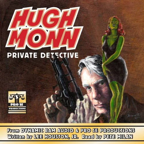 Hugh Monn : Private Detective audiobook cover art