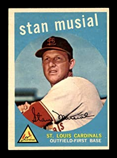1959 topps stan musial