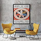 Todghrt Hilma Af Klint Poster Museum Ausstellung Prints