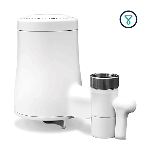 TAPP Water TAPP 2 Twist - Biodegradable Tap Water Filter System (uses activated carbon to remove microplastics, chlorine, lead, etc.)