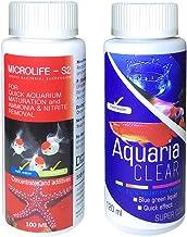 Aquatic Remedies Aquatic Remedies Micro Life S2 & Aquaria Clear Combo(100ML & 120 ML), 220 milliL (Pack of 2)