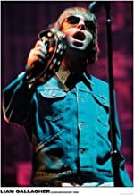 Liam Gallagher Performing Oasis Rock Band Glasgow Scotland 2000 Vintage Music Cool Wall Decor Art Print Poster 23.5x33