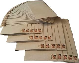 20 Forever Stamped Envelopes -Number 10 Security Envelopes (Stamp and Envelope Design May Vary)
