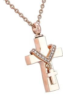 diamond memorial pendant