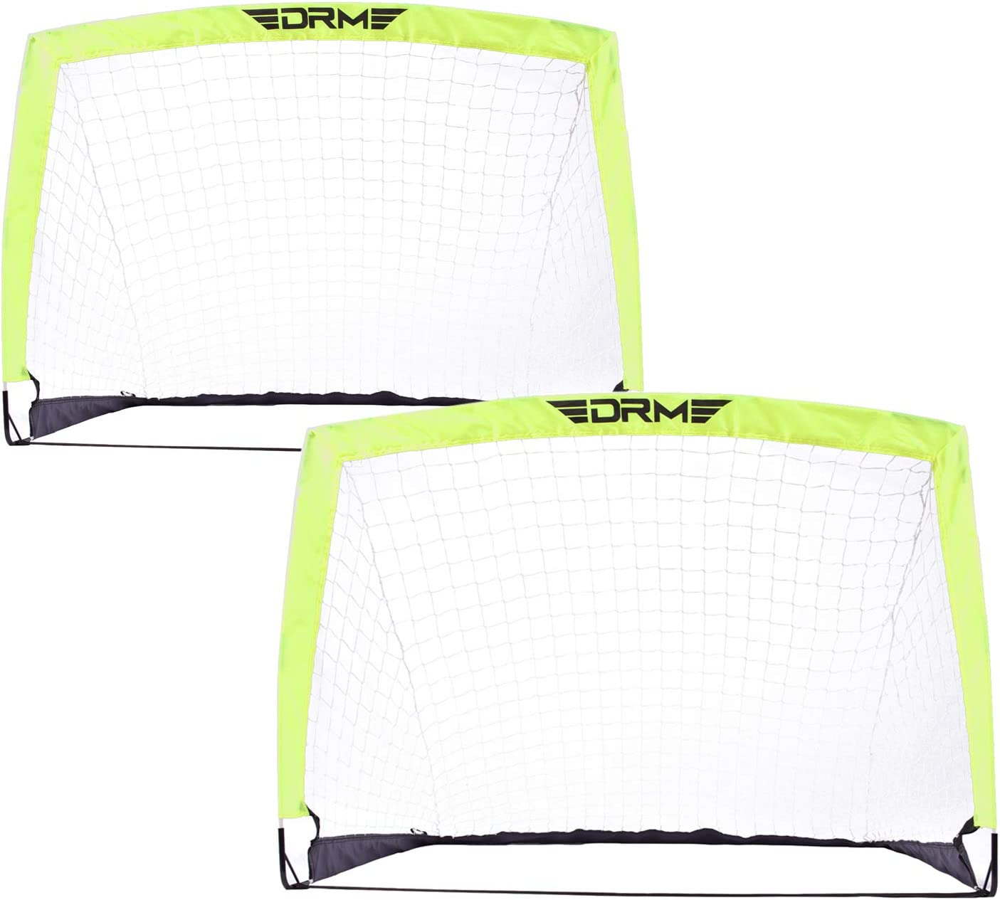 YV YOUTH VALUE Portable Bargain Soccer Goals latest Set-Up Easy Instant Fold-