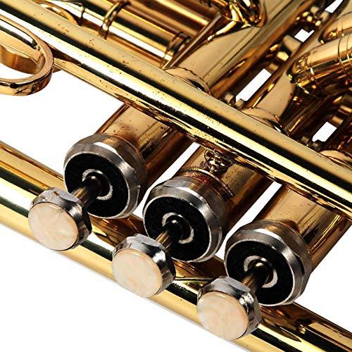 Trompeta de latón Trompeta de latón para amantes de la música Actuaciones en el escenario Herramientas de instrumentos para el hogar