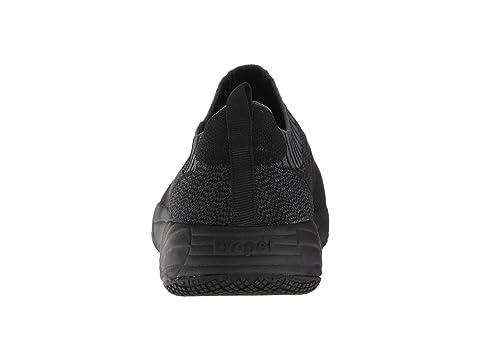 Propet Navy WhiteWhite GreyNavy Slip Wear N Black On Wash Dark Knit rxf7r