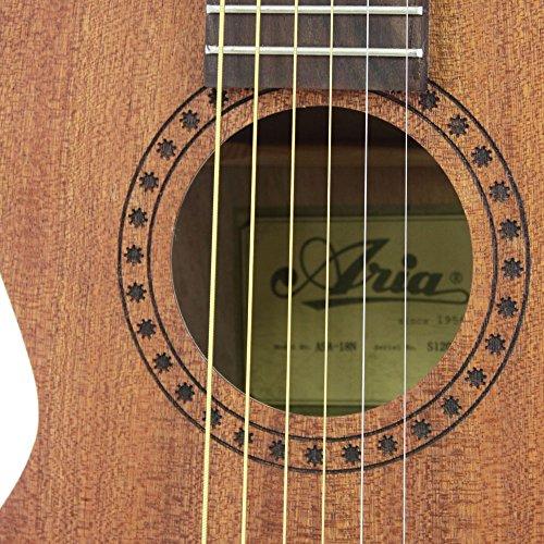 ARIAアリアミニアコースティックギターASA-18Nケース付き