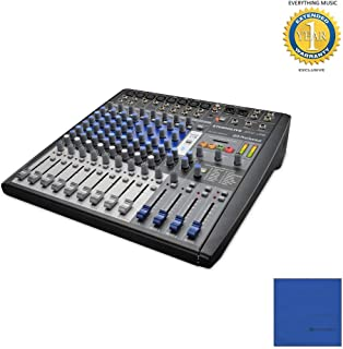 PreSonus StudioLive AR12 USB 14-Channel hybrid Performance and Recording Mixer with Microfiber and 1 Year Everything Music Extended Warranty