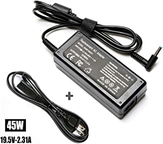 45W 19.5V 2.31A Adapter Charger for HP Spectre X360 Stream 11 13 14 Touchsmart 15 250 G3 255 G4 355 G2 ;Pavilion x360 719309-001 719309-003 721092-001 741727-001 740015-001 Laptop Power Supply Cord