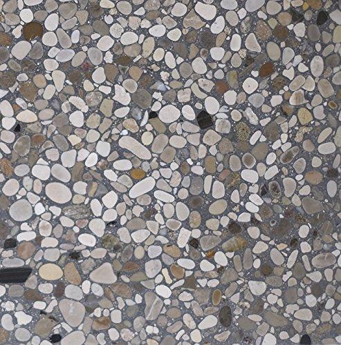 Baldosas para interiores y exteriores en aglomerados de mármol y cemento, CASTELFRANCO 12
