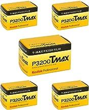 (5 Rolls) Kodak T-MAX P3200 35mm Film TMZ 135-36 B&W Black & White Film