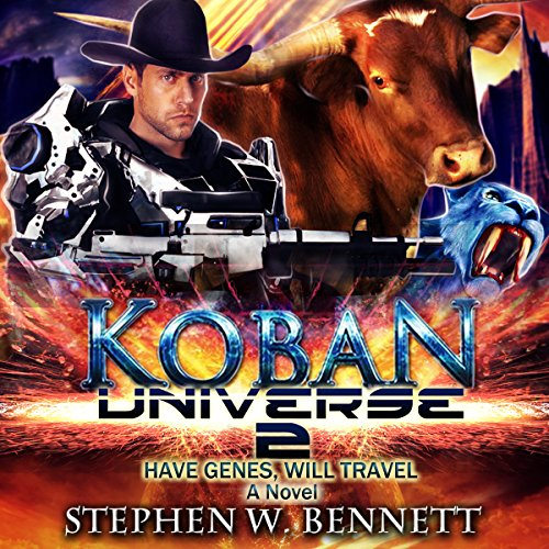 Koban Universe 2: Have Genes, Will Travel cover art