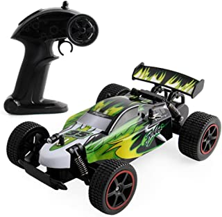Buywin JJQ-Toys RC Car High Speed 1:18 4WD Electric Power 2.4GHZ High Speed Climbing Remote Control Vehicle Green