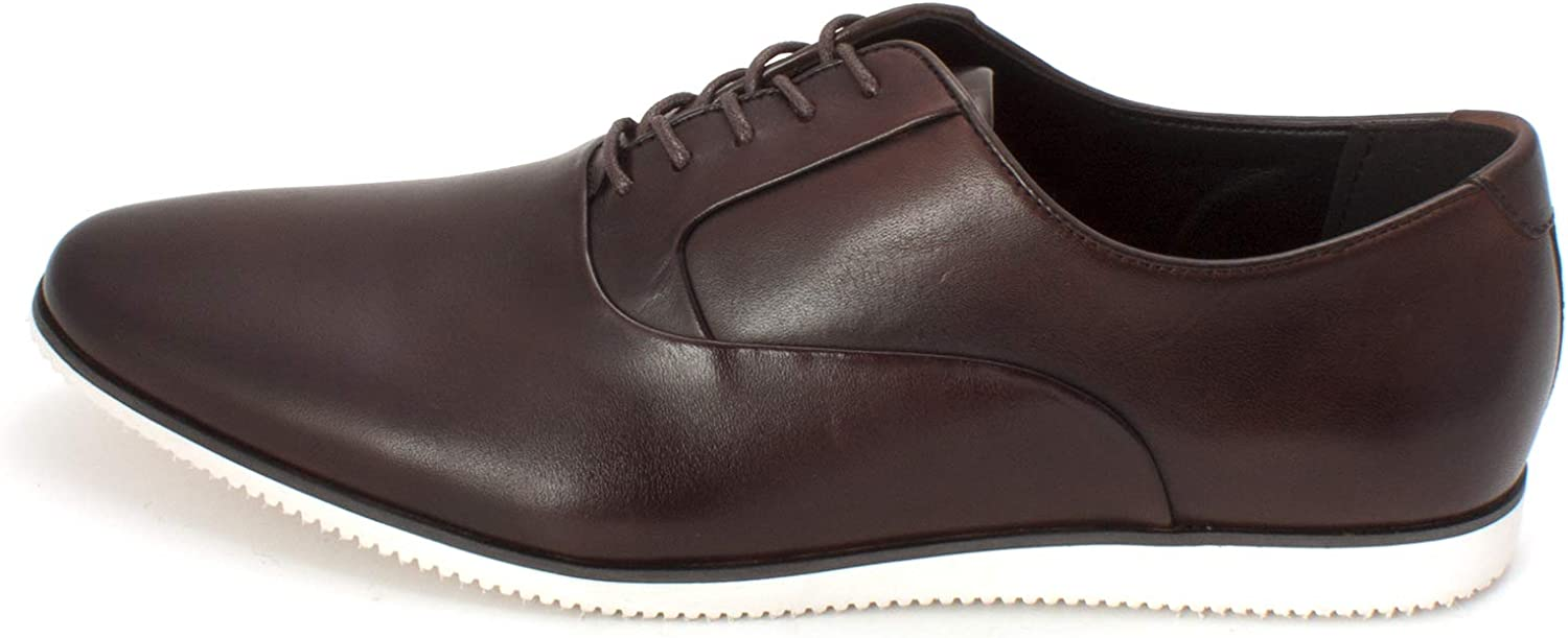 Bar III Mens Warner Leather Lace Up Casual Oxfords