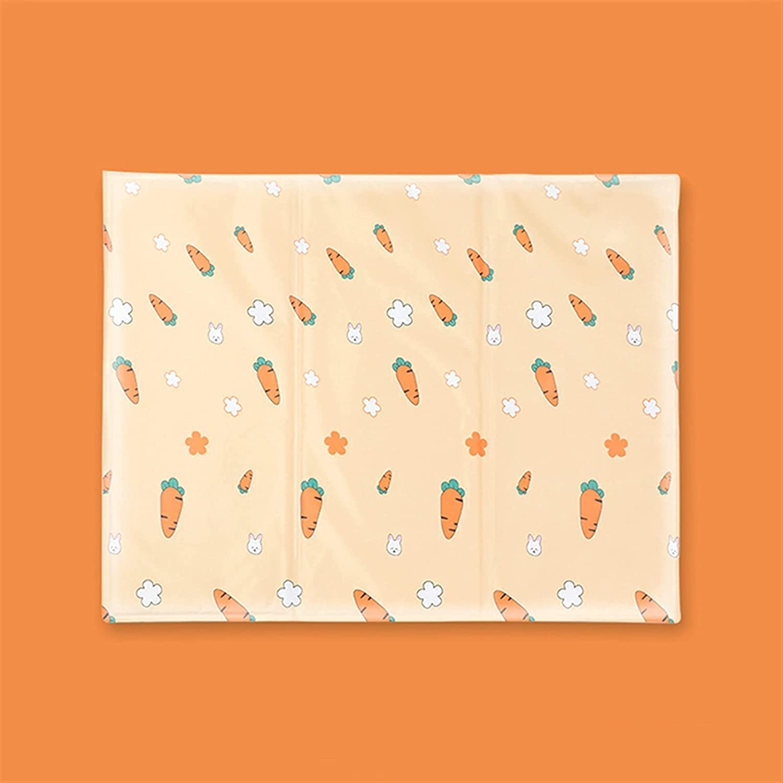 LUBINGT Pet Bed Summer New popularity Cold Philadelphia Mall Gel Dog Cooling Cushion Pad Soft