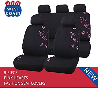 Best heart car seat covers Reviews