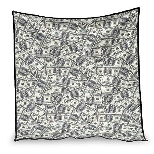 chvcodd Dollar Klimaanlage Steppdecke weiche Bettdecke nordischer Stil Muster Fit für Kinderzimmer Bestes Geschenk für Freunde weiß 230 x 260 cm