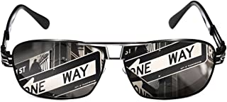 ROCKNIGHT Driving Polarized Sunglasses for Men UV Protection Metal Frame UV400 Beach Sunglasses Outdoor Casual
