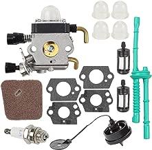 Wellsking FS80 Carburetor for STIHL FS 85 FC55 FC75 FC85 FS310 FS38 FS45 FS45C FS45L FS46 FS55 FS55C FS74 FS75 FS76 FS80 HS45 HS75 HS80 HS85 ZAMA Carburetor Rep C1Q-S97