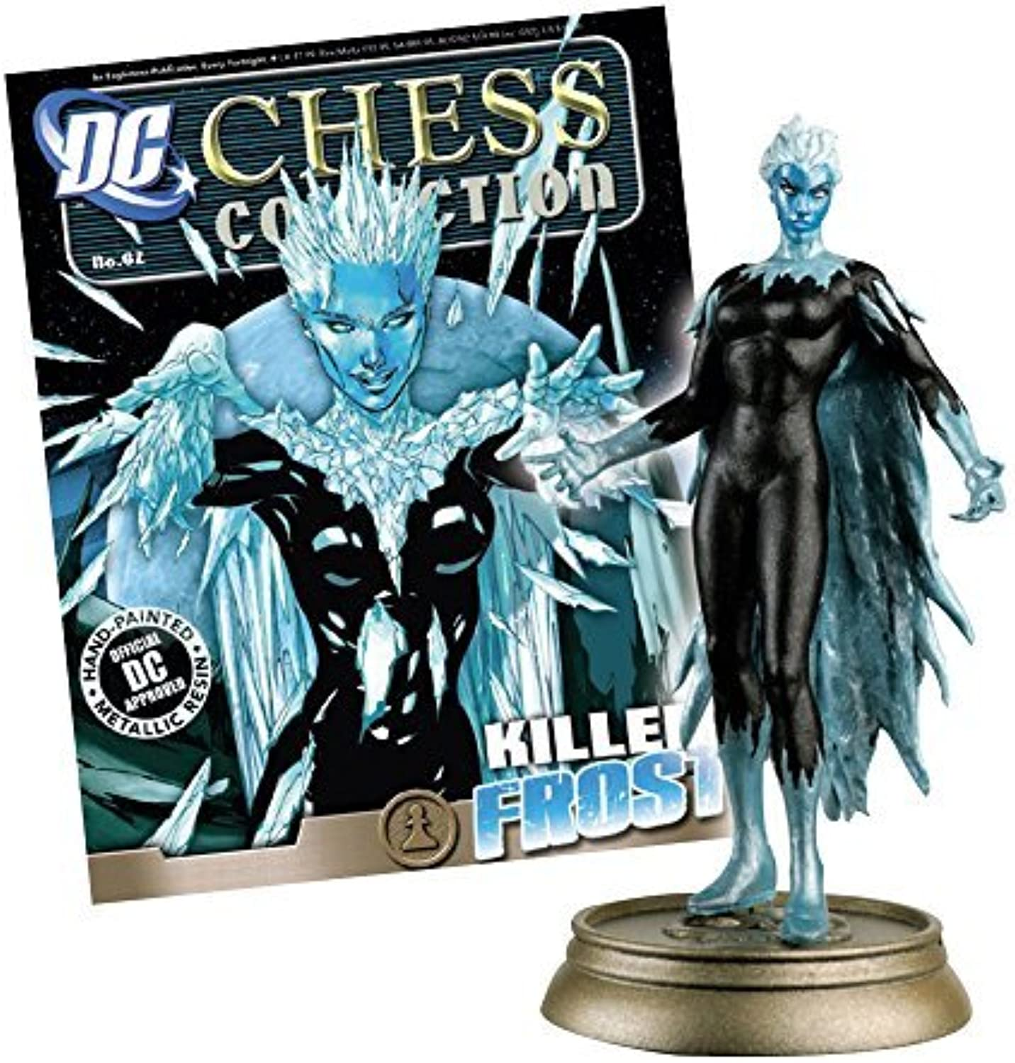 DC Comics Chess Figure & Magazine  62  Killer Frost Black Pawn by DC Comics