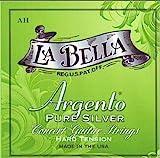 La Bella Argento Hard Tension pure silver アルジェント ピュアシルバー ハードテンション ギター弦セット(AH)