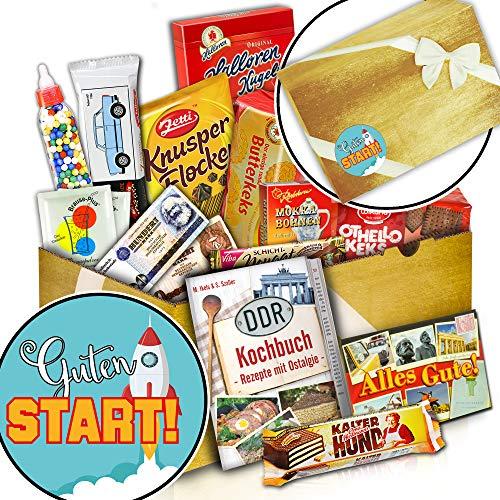 Süßes DDR Paket + Geschenk Ideen zum Start Frau + Guten Start
