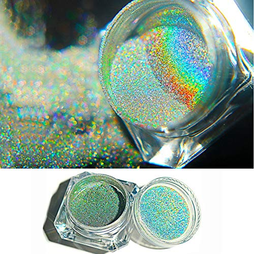 Brillo de uñas Chameleon de 0,5 g, efecto espejo, pigmento de cromo para decoración de uñas holográficas, manicura