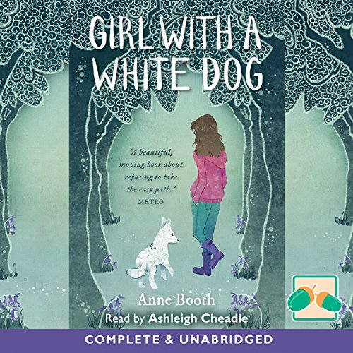 Girl with a White Dog audiobook cover art