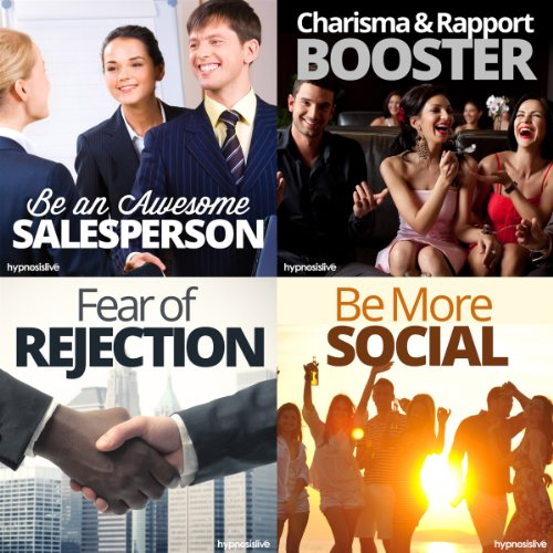 The #1 Salesperson Hypnosis Bundle audiobook cover art