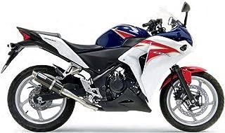 08-12 Kawasaki EX250: Leo Vince SBK GP Corsa Slip-On Exhaust (Carbon Fiber)