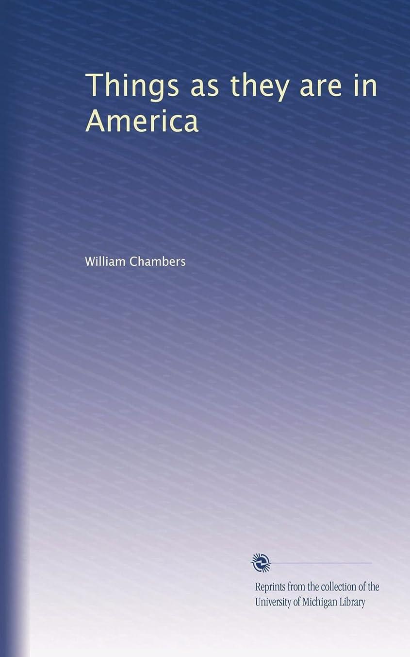 ギャップ突進変えるThings as they are in America (Vol.2)