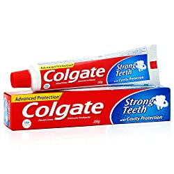 Colgate Strong Teeth Anticavity Toothpaste with Amino Shakti - 200gm