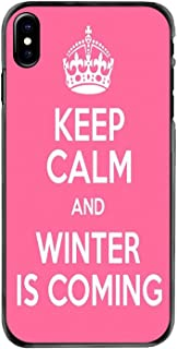 iPhone 11 Proの場合iPod Touch 4 4S 5 5S 5C SE 6 6S 7 8 Plus X XR XS MAXアクセサリ電話ケースカバーKeep Calm Winter IS Coming、For iPhone 6 6S Plus、images 3