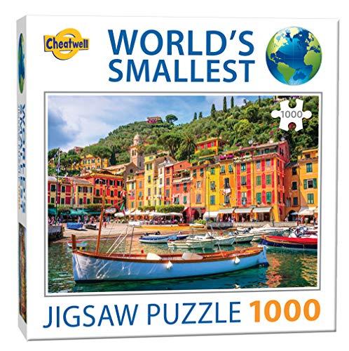 Cheatwell Games 13145 Jigsaw Puzzle Das kleinste Welt, 1000 Teile, Portofino
