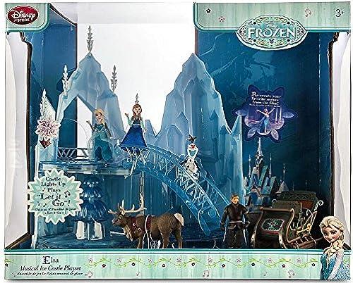 Disney Frozen Elsa Musical Ice Castle Playset [2nd Version with Sleigh] by Disney Frozen