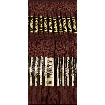 12-Pack DMC Six Strand Embroidery Cotton 8.7 Yards Very Light Tawny 117-3770 Bulk Buy