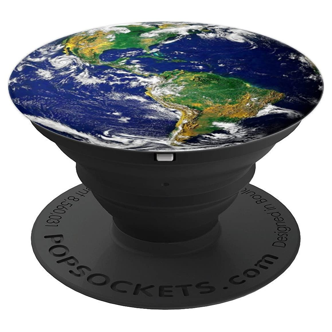Earth from Space Background - PopSockets Grip and Stand for Phones and Tablets