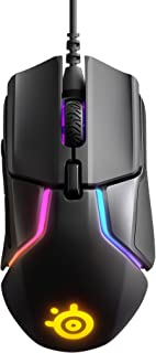 SteelSeries Rival 600 - Ratón Para Juegos - Sensor Óptico dual TrueMove3+ - Distancia de Elevación 0.05 - Sistema de Peso