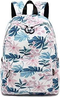Joymoze Leisure Backpack for Girls Teenage School Backpack Women Backpack Purse (Cute Flower)