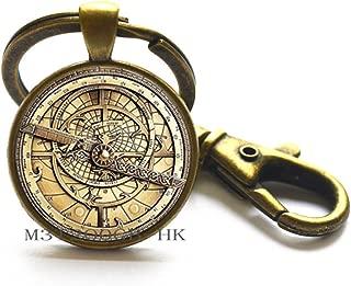 astrolabe keychain