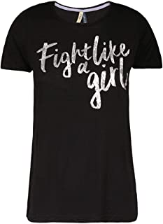 CAMISETA FEMININA FIGHT LIKE A GIRL KHELF