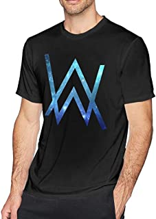Lzeasiea Alan Walker Men's Fashion T-Shirt