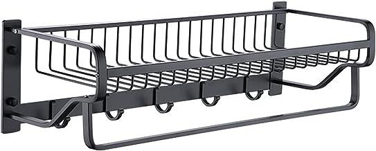 Aluminium drijvende planken wandgemonteerde opslagplanken opvouwbare badkamer plank wandmontage voor opslag Eenvoudig te i...