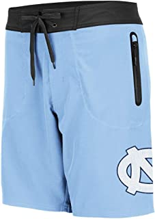 Colosseum Mens UNC North Carolina Tar Heels Lahaina Swim Shorts