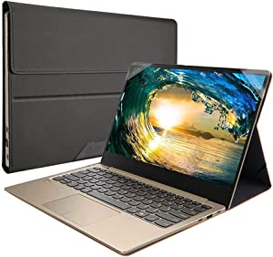 Honeymoon Case Cover Compatible with Dell Latitude 5401 5400 5411 5410/7400 7410 7420,PU Leather Protective Case Compatible with Dell Inspiron 14