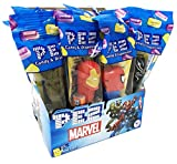 Marvel with Guardians of The Galaxy PEZ Candy Dispensers Party Favors (Pack of 12)